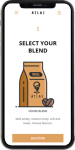 coffee subscription demo select blend