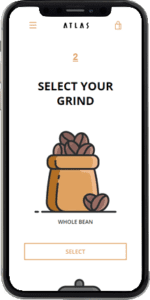 coffee subscription demo select grind